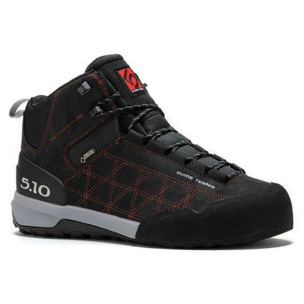 0ca6dac8baa Five Ten Guide Tennie Mid GTX Approach Shoe - Mens-Black Red-Medium
