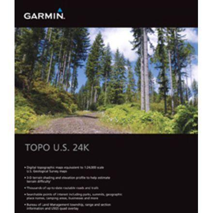 Garmin On the Trail Maps GPS TOPO U S  24K Mountain Central