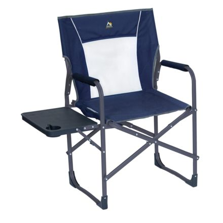 GCI Outdoor Slim Fold Directors Chair, Midnight, 36514