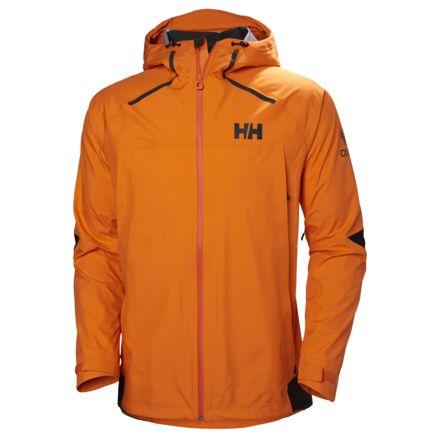f2375eb211ed8 Helly Hansen Odin 9 Worlds Jackets - Mens, Blaze Orange, Medium, 62714-