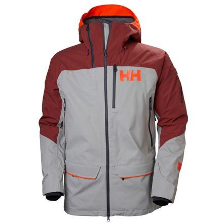 29826ff09e151 Helly Hansen Ridge Shell 2.0 Jacket - Mens, Light Grey Brick, Small, 65610