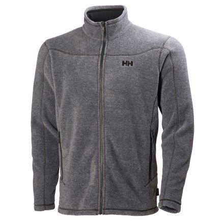 c578fb078e277 Helly Hansen Velocity Fleece Jacket - Men's-Ebony Melange-X-Large