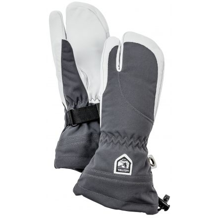 Primaloft Rib Knit Ski and Winter Mittens Hestra Womens Warm Gloves