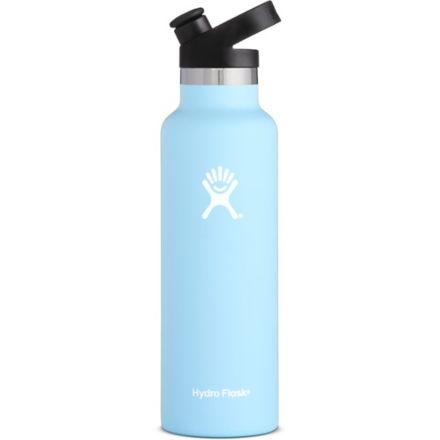 3857ce6c42 Hydro Flask Standard Mouth Sport Cap, Frost, 21 oz, S21ST440