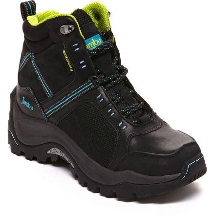Flex Climber Winter Boot - Womens-Black/Turquoise-Medium-6 US