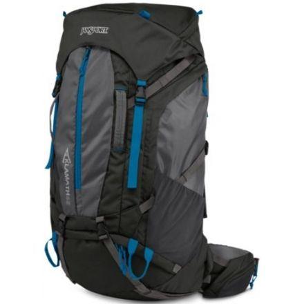 Jansport Klamath 55 Backpack Multi-Day Packs - Forge Grey/moroccan Deep HV6iSZFTlr