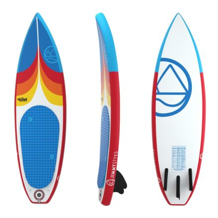 Jimmy Styks Airsurf6 Inflatable Surfboard Campsaver
