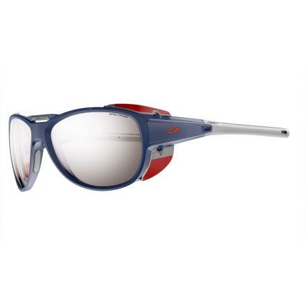 3264eabd5946d8 Julbo Explorer 2.0 Sunglasses with Spectron 4 Lenses, Matte Blue Red, Large  J4971212