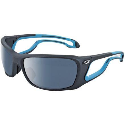 fe5e8a88a6 Julbo Pipeline L Sunglasses  Matt Black   Blue With Octopus Lenses 4348022