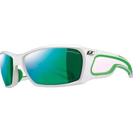 b32235f67a Julbo Pipeline Sunglasses - Shiny White Green Frame Frame w Spectron 3CF  Lenses 4281111