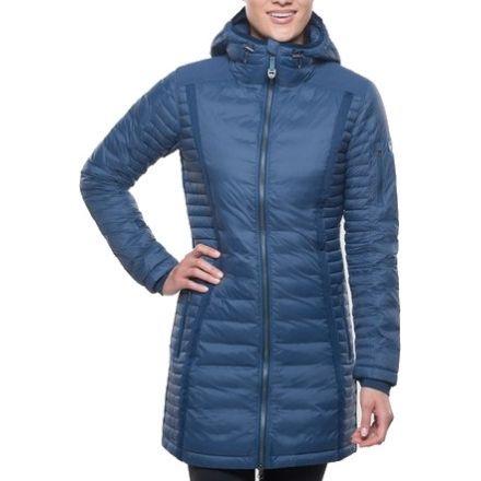 7M8Y K??hl Spyfire Down Jacket Womens Blue Depths Good Value For Sale