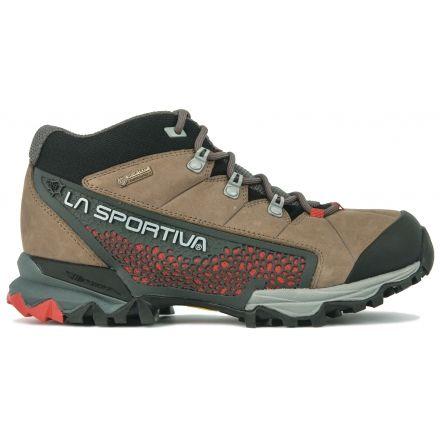 8aae9a9fd99 La Sportiva Catalyst Mid GTX Hiking Boot - Women s-Taupe Berry-Medium-