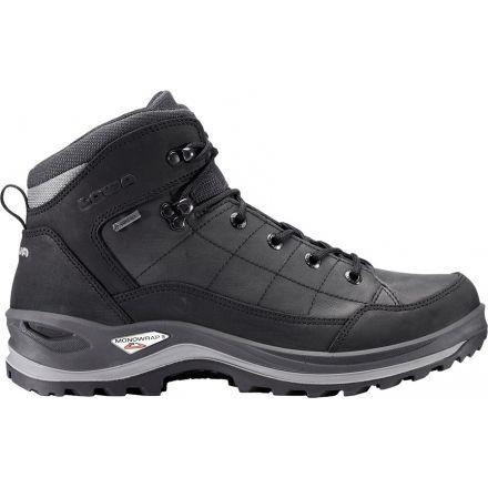 Lowa Bormio GTX QC Hiking Boot - Men's-Black/Anthracite-Medium-8.5