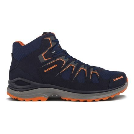 Lowa Innox Evo GTX Qc Hiking Shoe, Medium - Mens, Navy/Orange,