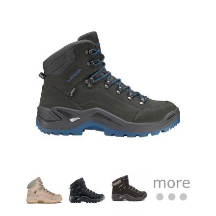 Buy Lowa Mens Renegade Mid Gore Tex Nubuck Boots online