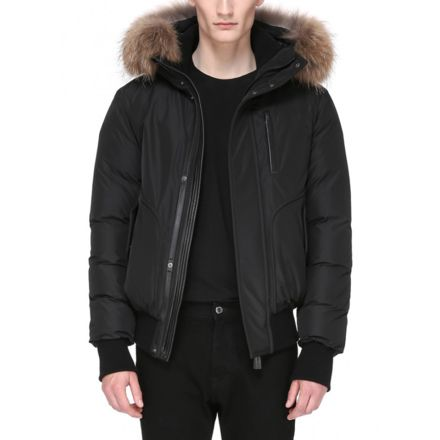 6c446f406 Mackage Florian Winter Down Bomber Jacket With Fur - Mens