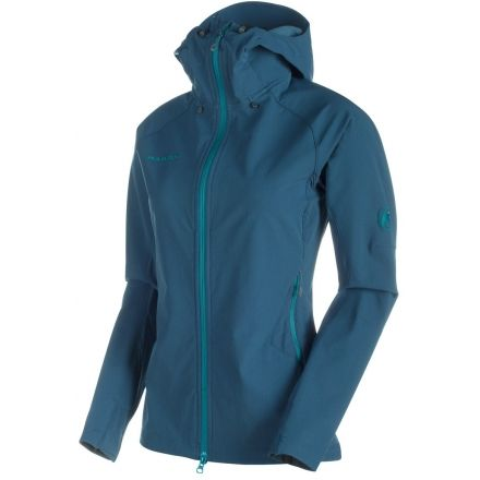 outlet store b23bb 1f2f4 Mammut Base Jump SO Hooded Jacket - Women's — CampSaver