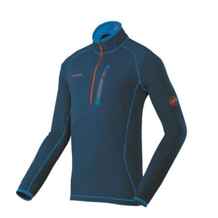 factory authentic fb821 9b74c Mammut Eiswand Zip Pull Light Pullover - Mens — CampSaver