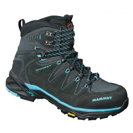 73517d532392 Mammut T Advanced GTX Hiking Boot - Womens-Graphite Carribean-Medium-8