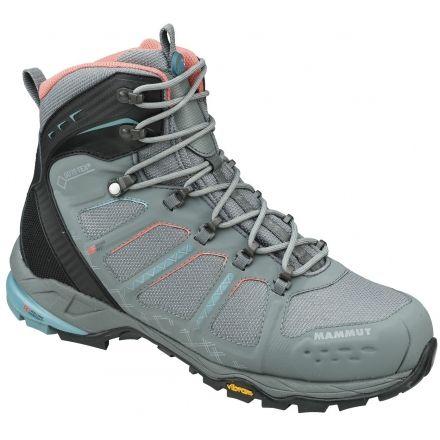 Mammut AENERGY MID GTX - Walking boots - grey/dark air mtVYVP