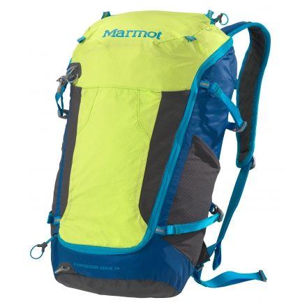 50995ddaf6810 Marmot Kompressor Verve 26 L Backpack-Green Lime Atomic Blue