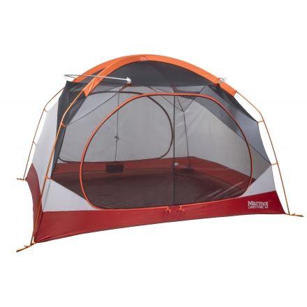 Marmot Limestone 4 Tent - 4 Person 3 Season-Orange Spice/Arona  sc 1 st  C&Saver.com & Marmot Limestone 4 Tent - 4 Person 3 Season with Free Su0026H u2014 CampSaver