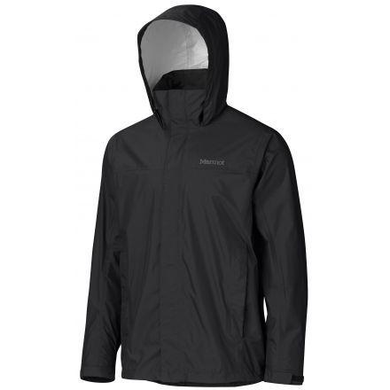 Marmot Precip Jacket Tall - Mens-Black-Medium 165c15557