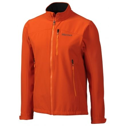 Shield Jacket - Mens-Sunset Orange-Medium
