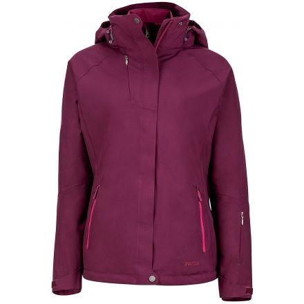 Marmot Sugar Loaf Component 3-In-1 Jacket - Women's -Dark Purple-