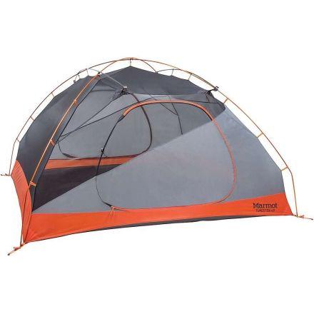 Marmot Tungsten 4P Tent - 4 Person 3 Season-Blaze/Steel  sc 1 st  C&Saver.com & Marmot Tungsten 4P Tent - 4 Person 3 Season with Free Su0026H u2014 CampSaver