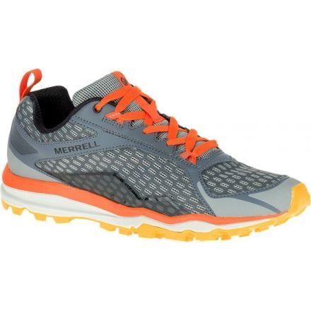 562469ac6af Merrell All Out Crush Trail Running Shoe - Men's-Grey/Orange-Medium-