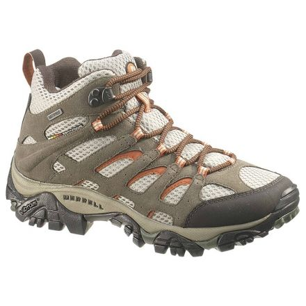 Merrell Moab Mid Waterproof Hiking Boot - Women's-Bungee Cord-10-Wide