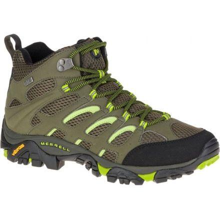 7c07cdd1e66 Merrell Moab Mid Waterproof Hiking Shoe - Mens — CampSaver