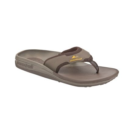 fashionable and attractive package variety design on feet images of Montrail Molokai Sandals - Men's — CampSaver