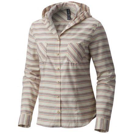 Mountain Hardwear Acadia Stretch Hooded Long Sleeve Shirt Womens