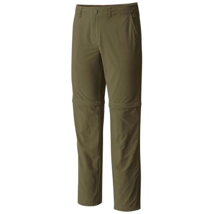 1275449fa6 Mountain Hardwear Castil Convertible Pant - Men's, Peatmoss, 38  1574061214-38-32