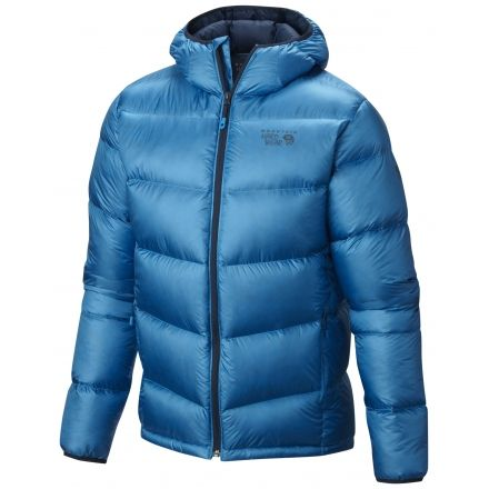 Mountain Hardwear Kelvinator Hooded Jacket - Men's-Dark Compass-X-Large