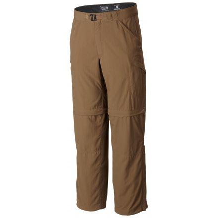 Mountain Hardwear Portino Convertible Pants - Mens-Cigar-Long Inseam-32  Waist