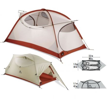 MSR Elbow Room 2 Tent - 2 Person 3 Season  sc 1 st  C&Saver.com : msr hoop 2 person tent - memphite.com