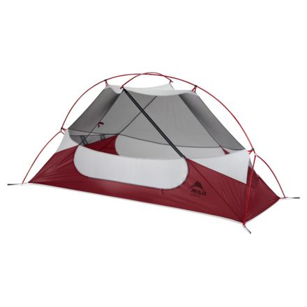 MSR Hubba NX Red 10315  sc 1 st  C&Saver.com & MSR Hubba NX Tent - 1 Person 3 Season 10315 u0026 Free 2 Day Shipping ...