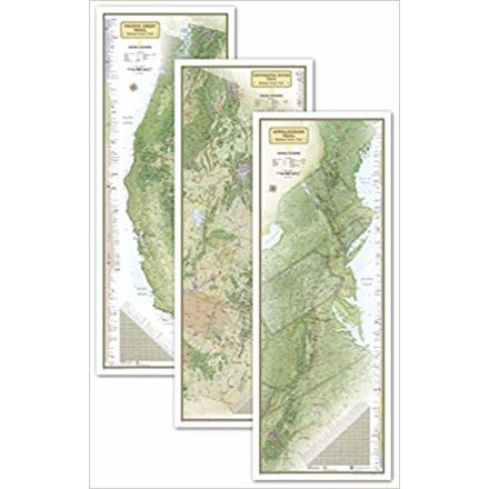 National Geographic Triple Crown Of Hiking Maps United States ...