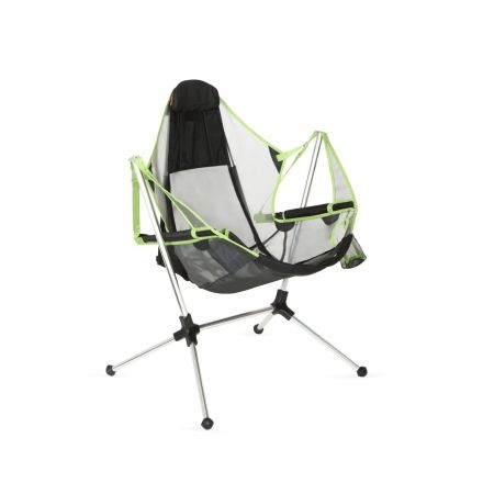 Nemo Stargaze Recliner Luxury Camping Chair, Birch Leaf Green 814041018371