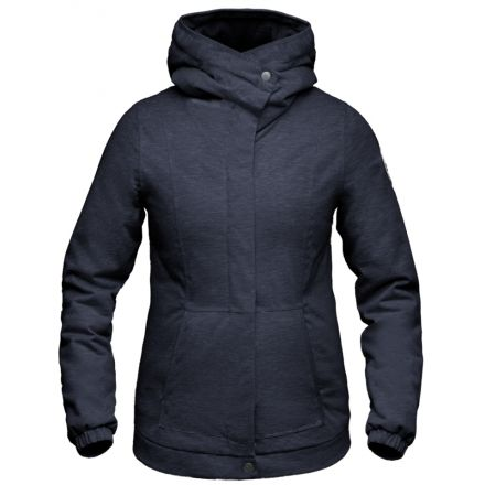Nobis Scarlett Insulated Hoodie - Women's-Navy-Large