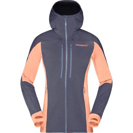Womens Small Wool FulL Zip Hood Jacket S