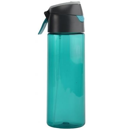 f7d40b7644 O2 Cool Mist N Sip Prism Water Bottle with Pop-Up Top/Carry Loop ...