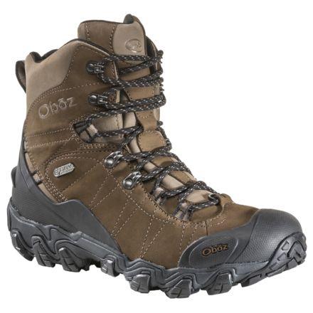 21dda8224d0 Oboz Bridger 8 Insulated BDry Hiking Boot - Men's
