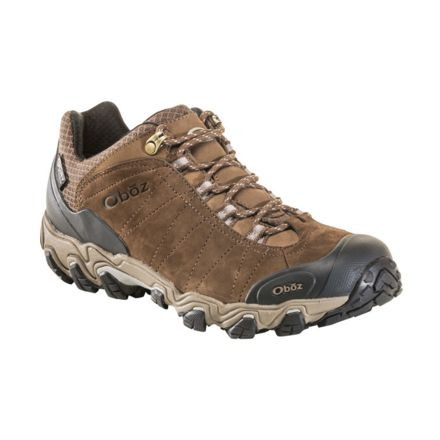 2b0242af7f3 Oboz Bridger Low B-DRY Hiking Shoe - Mens