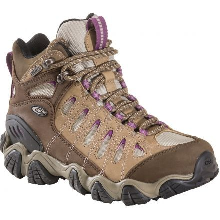 a3d9709ce92 Oboz Sawtooth Mid BDry Hiking Shoe - Womens — CampSaver