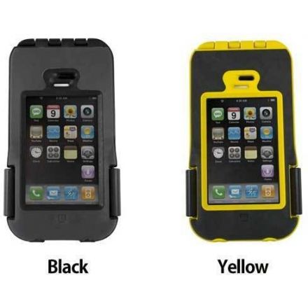 new concept 14420 1fde0 OtterBox Case for iPhone Armor Series Black/Yellow — CampSaver