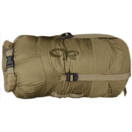 4a0ad9429c1e Outdoor Research Airpurge Dry Compression Sacks Coyote Tan — CampSaver